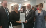 The Arc of Camden County's Berlin Adult Training Center Receives Proclamation Signed by Governor Murphy